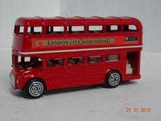Carro colección  Bus servicio público Londres. #RegalosNavidad2013 #RegalosParaEllos