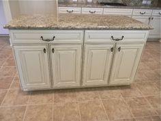 Sierra Vista Painted Maple Hazelnut Glaze Cabinets