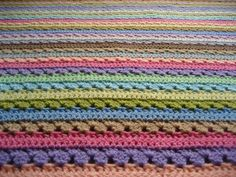 Cupcake Blanket - I'm working on this blanket at the moment. Love it.