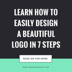 Here's How To Easily Design a Beautiful Logo