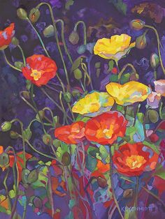 Just Landscape Animal Floral Garden Still Life Paintings by Louisiana Artist Karen Mathison Schmidt