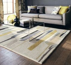 Harlequin - Zeal Pewter 43004 Rugs - buy online at Modern Rugs UK