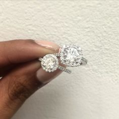 Some difficult decisionS  Which one do you like?  #decisions #engagementring #diamondring #proposal #etsyshop #halo #handcrafted #theknotrings #apbling #bling #ettringoftheday #ringoftheday #jotd #jewelrygram #isaidyes #shesaidyes #bridal #bossbabe #diamond #diamondringgoals #relationshipgoals #gettingmarried #bridaljewelry #sparkle #harrywinston #tiffanyandco #fairytaleproposals #futuremrs #misstomrs #california
