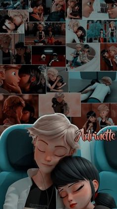 Adrian and Marinette Ladybug And Cat Noir, Meraculous Ladybug, Ladybug Comics, Adrian And Marinette, Marinette Et Adrien, Miraculous Ladybug Wallpaper, Miraculous Ladybug Fan Art, Cute Disney Wallpaper, Cute Cartoon Wallpapers
