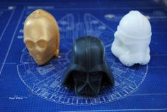 Handmade Star Wars Character set  Darth Vader by NerdySoap on Etsy