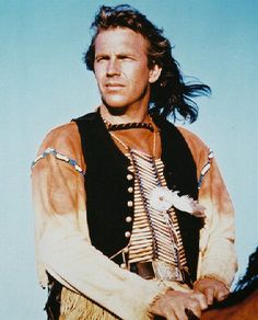 Kevin Costner as Lt. John Dunbar from Dances with Wolves