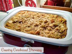 Mamaw's Country Cornbread Dressing