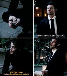 "#TheOriginals 4x06 ""Bag of Cobras"" - Klaus and Elijah"