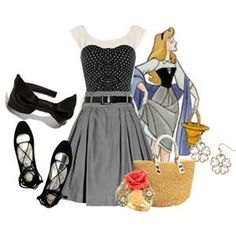 sleeping beauty inspired outfit - Google Search