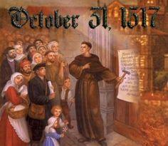 Reformation Day. Lutheran Church—Missouri Synod.