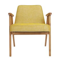The masterpiece of mid-century design - iconic model 366 Easy Chair, designed by Józef Chierowski in 1962, reissued under exclusive license by 366 Concept in 2014. <br><br> - Authentic design. <br> - Only top quality solid wood.<br> - Safe and eco-friendly water-based varnishes and glues.<br> - STAIN RESISTANT fabrics. <br><br> BESTSELLER: LOFT Mustard (available in all wood colours). <br> 72 hours dispatch guaranteed!<br> 14 days return.&...