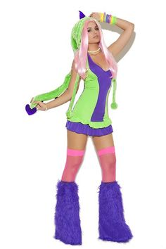 DEALS OF THE WEEK http://hplingerie.com/products/dino-doll-2-pc-costume-includes-halter-dress-and-dinosaur-hood $25,00 FREE SHIPPING valid through 10-14-2016