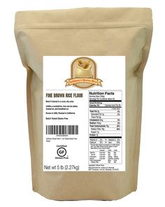 Anthony's Brown Rice Flour, Certified Gluten-Free