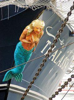 La fameuse sirène : Figures de proue - Linternaute.com Mer et Voile