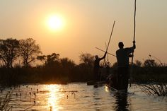 Okavango Delta, In The Heart, Life Changing, Ancestry, Wilderness, Stretches, Africa, Adventure, Sunset