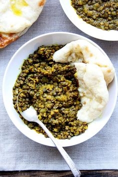 two-lentil dal from