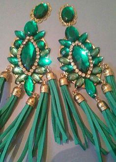 earrings handmade by jelenakiso on Etsy