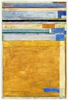 Richard Diebenkorn, Untittled No 12 (Ocean Park Series?)