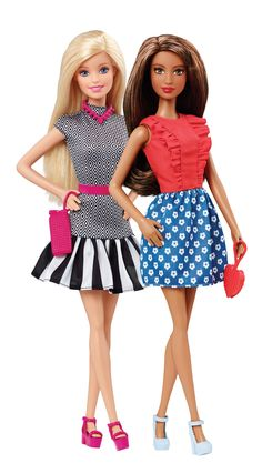 Barbie Fashionistas doll line is fresh, relevant and a reflection of different cultures today. [ad]