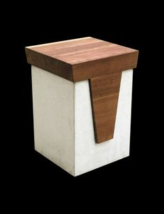 Kubb stool - Skulpturfabriken - Design Stina Lindholm