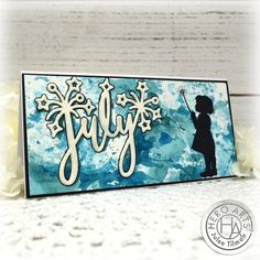 Handmade card by Julee Tilman using stamps and dies from the July 2020 My Monthly Hero Collection. #heroarts #mymonthlyhero #cardmaking #handmadecards #stamping #papercrafting Liquid Watercolor, Watercolor Paper, Hero Arts, My Stamp, Sparklers, Dark Colors, Fireworks, I Card, Stamping