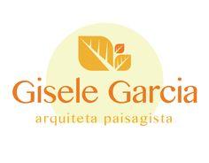 Criação de logomarca, Gisele Arquiteta Paisagista