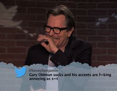 Celebrities Are Still Reading Your Mean Tweets! these will never, ever get old.