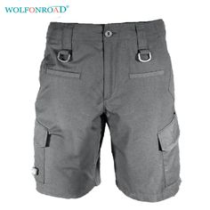 WOLFONROAD TAD Men Summer Quick Dry Shorts Outdoor Rock Climbing Sport Shorts Hiking Trouser Military Tactical Shorts L-YWWS-04