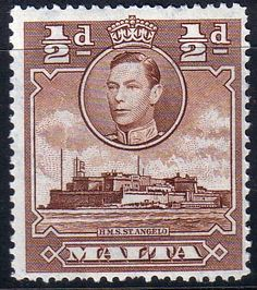 Malta Stamps 1938 King George VI SG 218a Fine Mint Scott 192A Stamps for sale take a look
