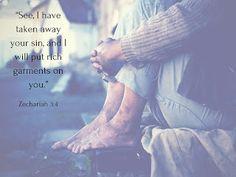 Steps: Unworthy but Not Worthless..., Zechariah 3:4