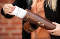 The Blueprint Tube - A Leather Carrying Case For Blueprints, Posters, And…