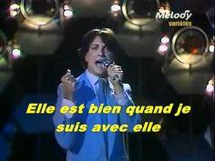 """Hervé Vilard : """" Reviens"""" (El cielo azul - Toto Cutugno)"""