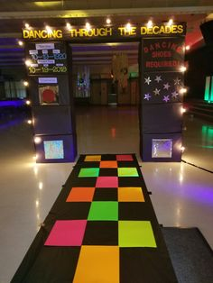 Ballroom dancing is really as popular as ever before, one reason could be the many movies and television s… Disco Party, Disco Theme, 80s Theme, Neon Party, School Dance Decorations, 80s Party Decorations, 80s Birthday Parties, Disco Birthday Party, Middle School Dance