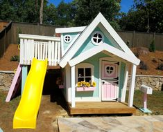 The whimsical Big Playhouse Absolutely stunning Features a