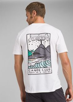 Discover our collection of men's t-shirts. Find new styles of organic t-shirts for men that are made for movement and built to last. Tee Shirt Designs, Tee Design, Vintage Shirts, Vintage Outfits, T Shirts Canada, Trendy Hoodies, Aesthetic Shirts, Clothing Co, Shirt Style