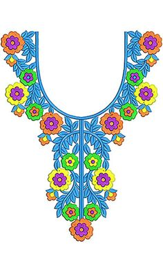 Embroidery Neck Designs, Embroidery Stitches, Embroidery Patterns, Salwar Neck Designs, Irish Crochet, Embellishments, Give It To Me, Neckline, Textiles