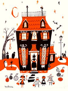 """bookofoctober:    """"Haunted House""""by Joseph Holodook"""