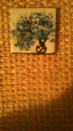 Blue flowers number 316