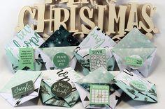 Christmas tea bag favor teacher gift Christmas chocolate