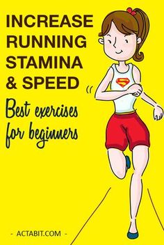 Running tips for beginners that help you increase running stamina or endurance and improve speed. One day you may run a marathon. Check the running exercises for beginners, get the training plan and learn to run long distance as well as to run faster.