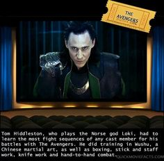 Loki ~ Tom Hiddleston ~ Badass!