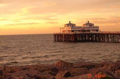 """Good Morning"" at Malibu Pier, Ca."