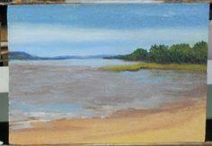 Painting 2 - Thomas Point Beach, Maine - by Joanne Labato Stone