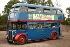 1950 Browns Blue / London Transport RT AEC Regent III / Weymann H30/26R Double-Decker Bus KLB 596 | Flickr - Photo Sharing!