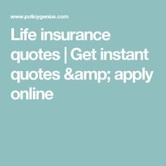 Term Life Insurance Instant Quote Best Term Life Insurance Quotes Made Easywe Help You Calculate Your
