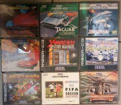 Divers Jeux Mega CD