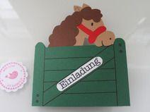 pferde einladungskarten zum kindergeburtstag kostenlos downloaden, Einladung