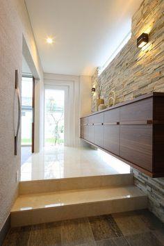 Entrance Foyer, Main Entrance, Entryway, Natural Interior, Interior Decorating, Interior Design, Decorative Panels, Floor Design, Interior Inspiration