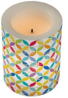 Primary Inspired: Rethinking Classroom Design- an adorable flameless candle made with Creative Teaching Press's medallions design!  #teachers #classroom #musthave
