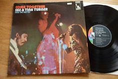 IKE & TINA TURNER and the Ikettes Come Together LP Liberty LBS 83350 I